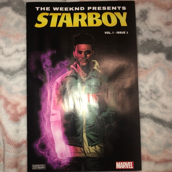 The Weeknd Starboy limited edition comic book